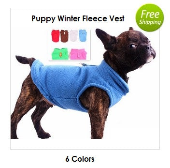 Puppy Fleece Vest