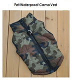Pet Waterproof Camo Vest
