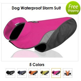 Dog Waterproof Storm Suit