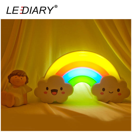 LED Rainbow Colorful Night Light