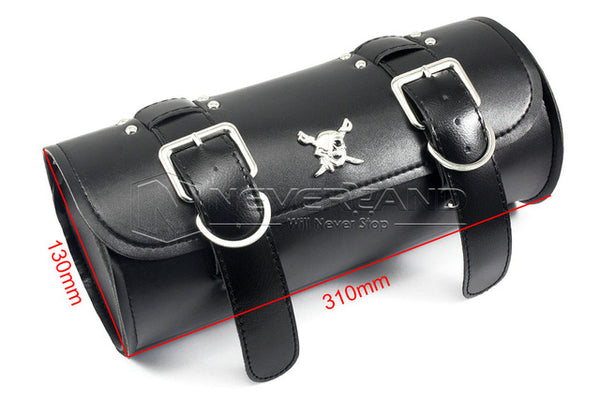 Black Motorcycle Saddle Bag