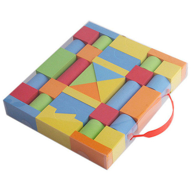 30/38PCS EVA Safe Children Building Brick Block
