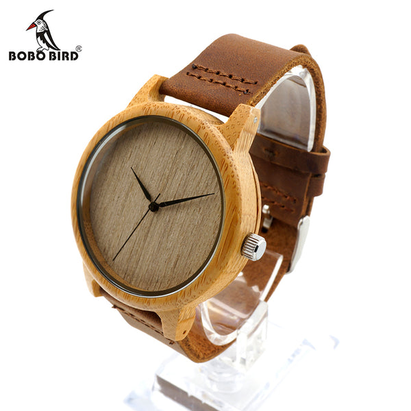 BOBO BIRD Casual Wooden Watch