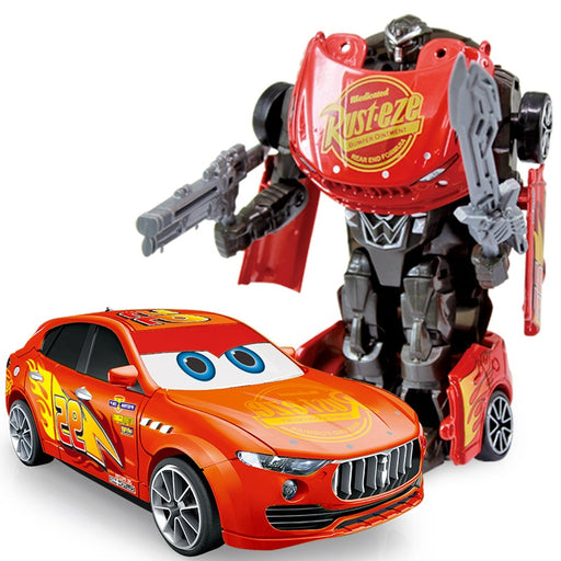 Anime Figure Toys Transformers Alloy Car Models Robot
