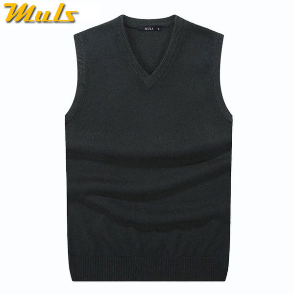 Men Sleeveless Sweater Vest