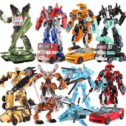 Transformers Robot Toy Action Figures 19cm Height