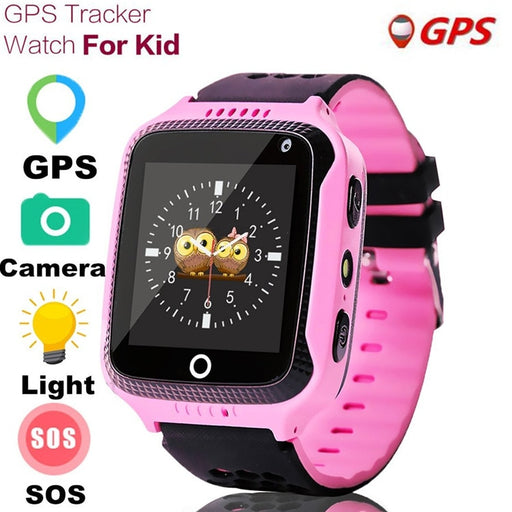 MOCRUX Q528 GPS Smart Watch With Camera Flashlight SOS Call Location Device Tracker