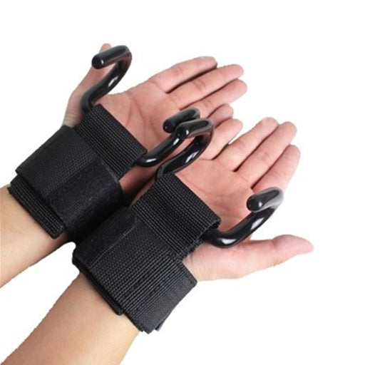 2 pcs/lot Weight Lifting Hook Fitness Gloves