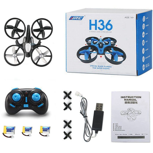 3 Batteries Mini Drone Rc Quadcopter