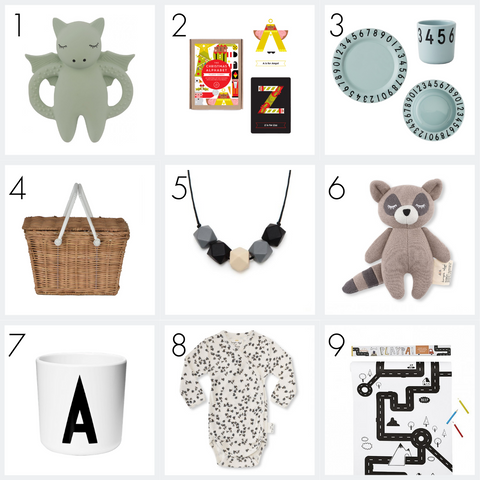 Nursery Edit - Modern Kids Store - Christmas Gifts Under £25