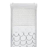Snuz 3pc Crib Bedding Set – Wave Mono
