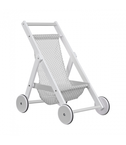 Kids Concept Toy Pram - Grey