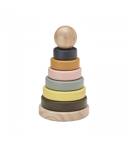 Kids Concept Neo Wooden Stacking Rings