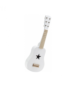 Kids Concept Toy Guitar - White