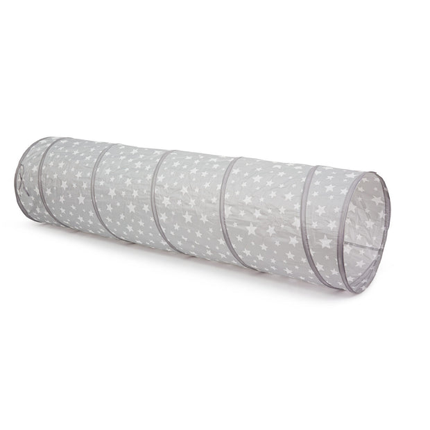 Kids Concept Play Tunnel Grey Star