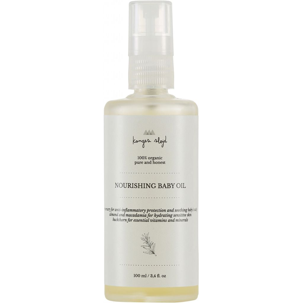 Konges Slojd Natural Baby Oil - Nursery Edit