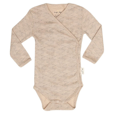 Konges Slojd Newborn Wrap Organic Body - Sea Shell Old Rose - Nursery Edit