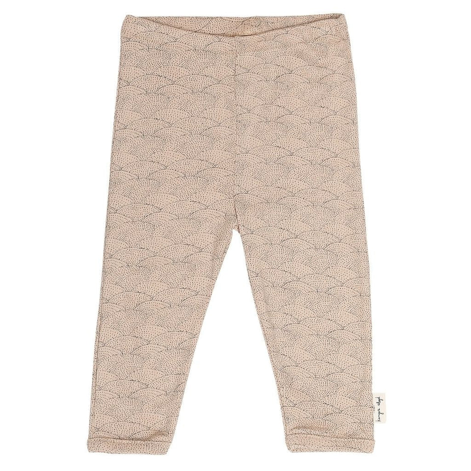 Konges Slojd Organic Leggings - Sea Shell Old Rose