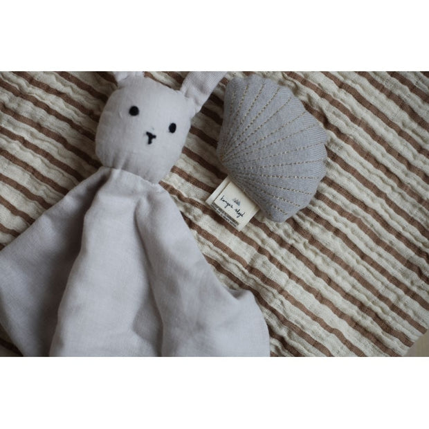 Konges Slojd Sleepy Rabbit Comforter - Rose