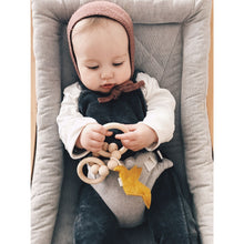 Load image into Gallery viewer, Bezisa Birds Rattle Teether - Ochre Yellow - Nursery Edit