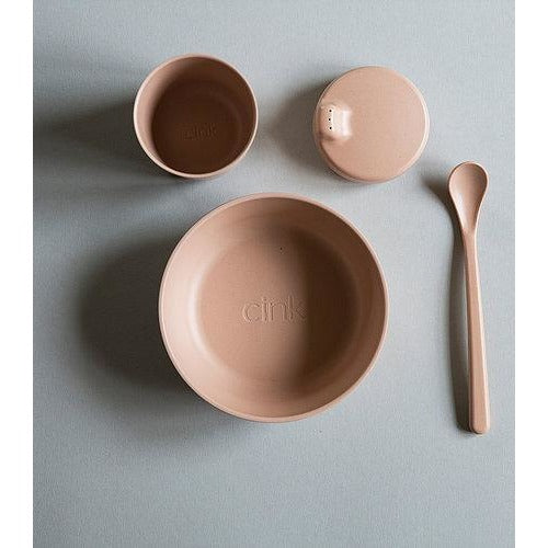 Cink Bamboo Tableware Giftbox - Rye - Nursery Edit