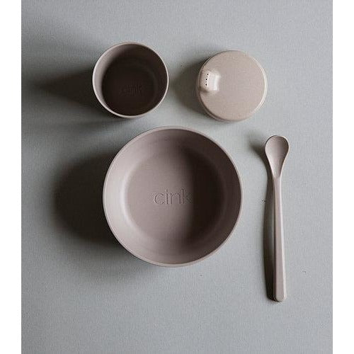 Cink Bamboo Tableware Giftbox - Fog - Nursery Edit