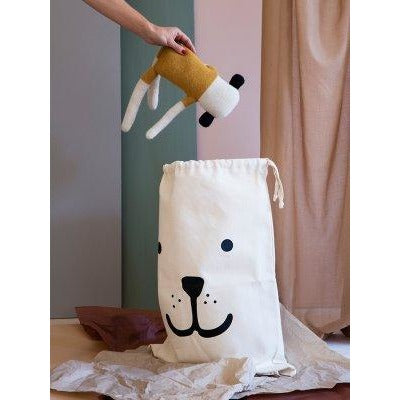 Tellkiddo - Large Fabric Storage Bag - Bear