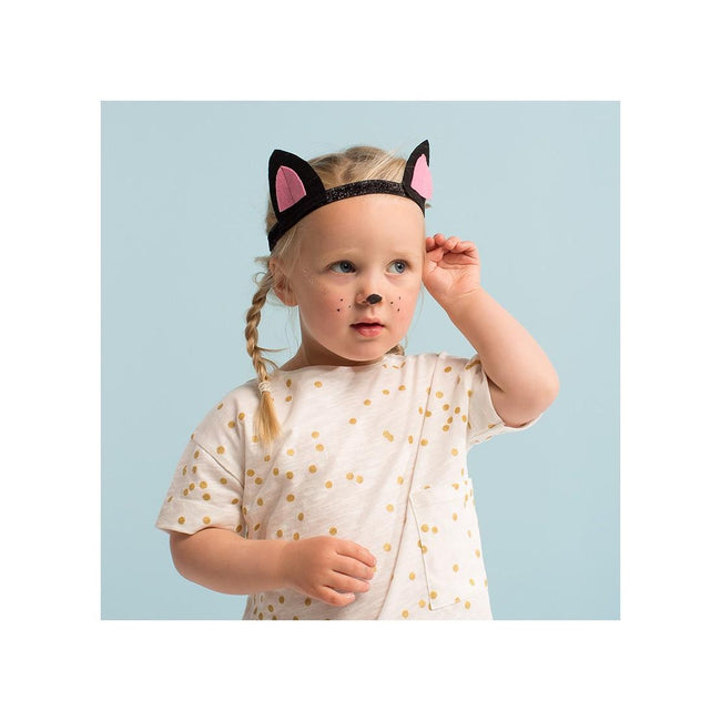 Dressing Up Cat Ears and Tail