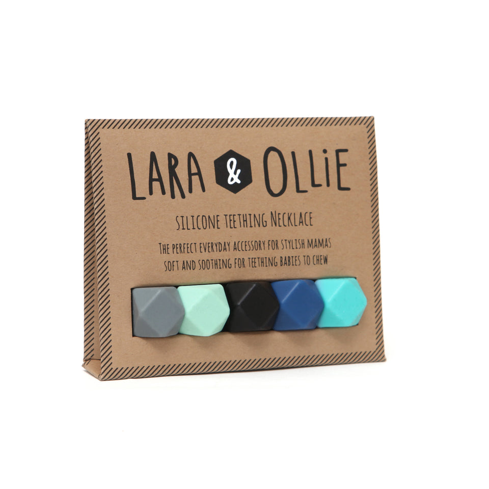 Lara & Ollie Anna Teething Necklace