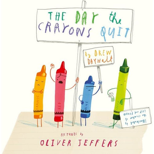 The Day The Crayons Quit Book - Nursery Edit