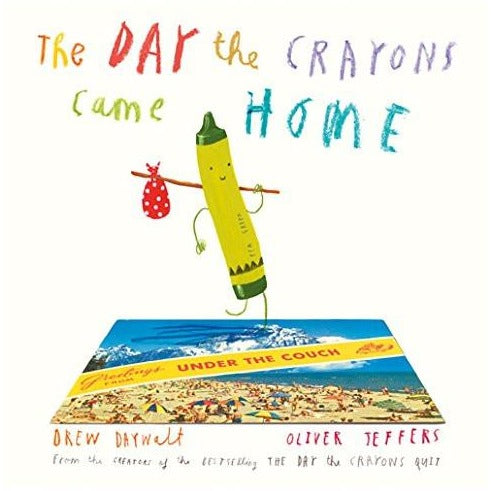 The Day The Crayons Came Home Book - Nursery Edit