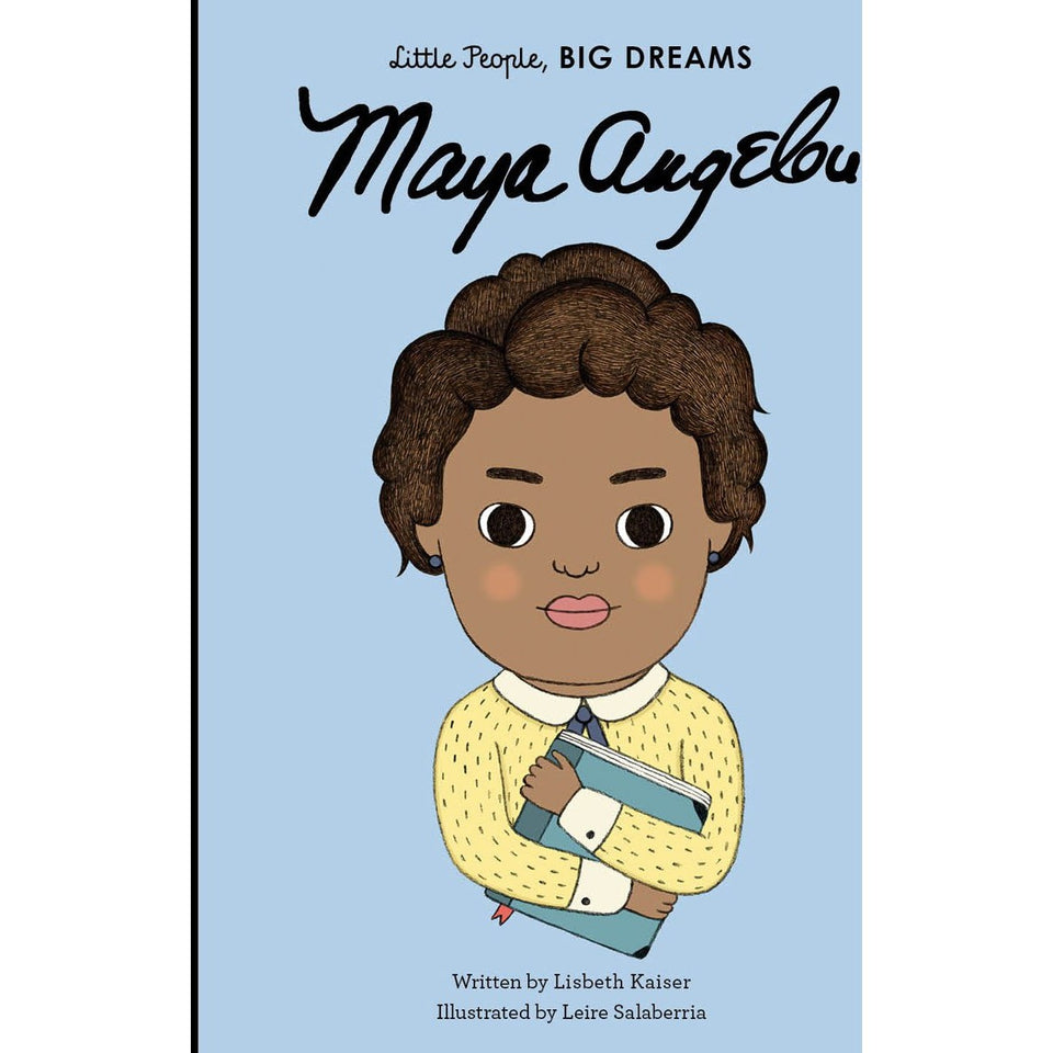 Little People Big Dreams Book - Maya Angelou