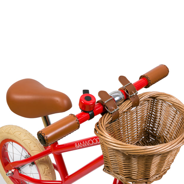 Banwood First Go! Balance Bike + Helmet - Red - Save £5 Package - Nursery Edit