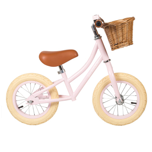 Banwood First Go! Balance Bike - Pink - Nursery Edit