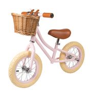 Banwood First Go! Balance Bike + Helmet - Pink - Save £5 Package - Nursery Edit