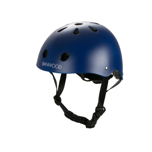 Banwood Bike Helmet - Matte Navy - Nursery Edit