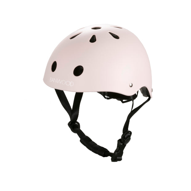 Banwood Bike Helmet - Matte Pink - Nursery Edit