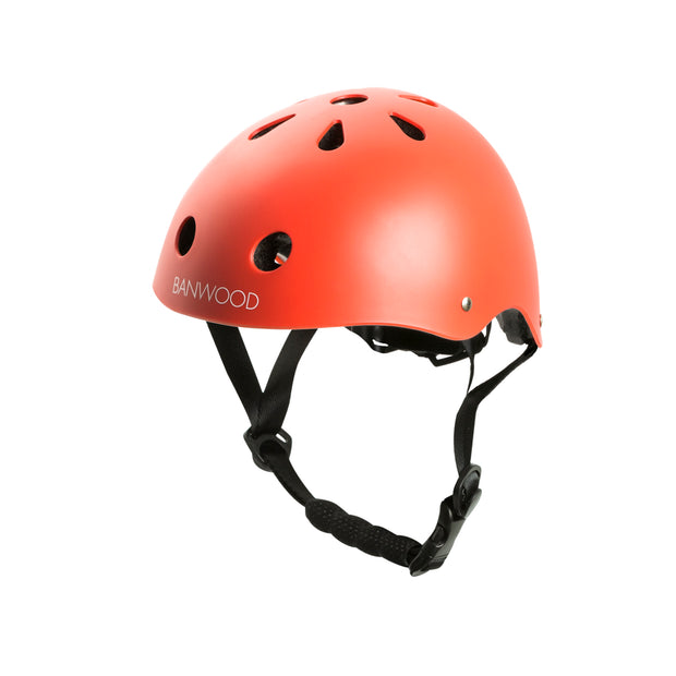 Banwood Bike Helmet - Matte Red - Nursery Edit