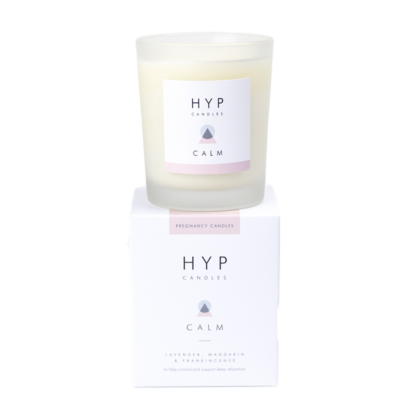 HYP CALM Candle - Lavender, Mandarin and Frankincense