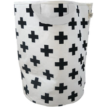 Load image into Gallery viewer, Wildfire Teepees Cross Toy Storage Bag - White Handle - Nursery Edit