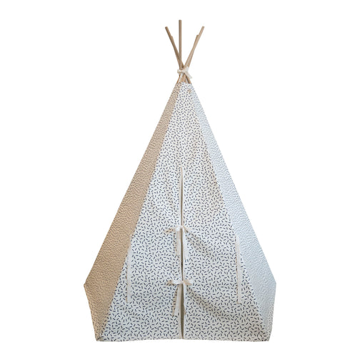 Wildfire Teepees Dash Teepee with White Trim - Nursery Edit