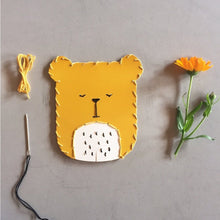 Load image into Gallery viewer, Fabelab Embroidery Kit Bear - Nursery Edit