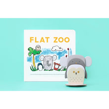 Load image into Gallery viewer, Flat Zoo Book - Nursery Edit