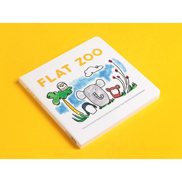 Flat Zoo Book - Nursery Edit