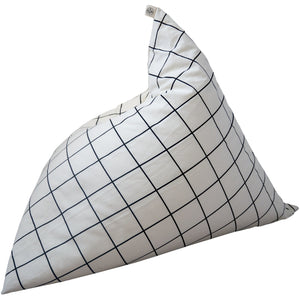 Wildfire Teepees Grid Pyramid Bean Bag - Nursery Edit