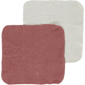 Konges Sløjd Organic Cotton Wash Cloths - Bark 5 Pack - Nursery Edit