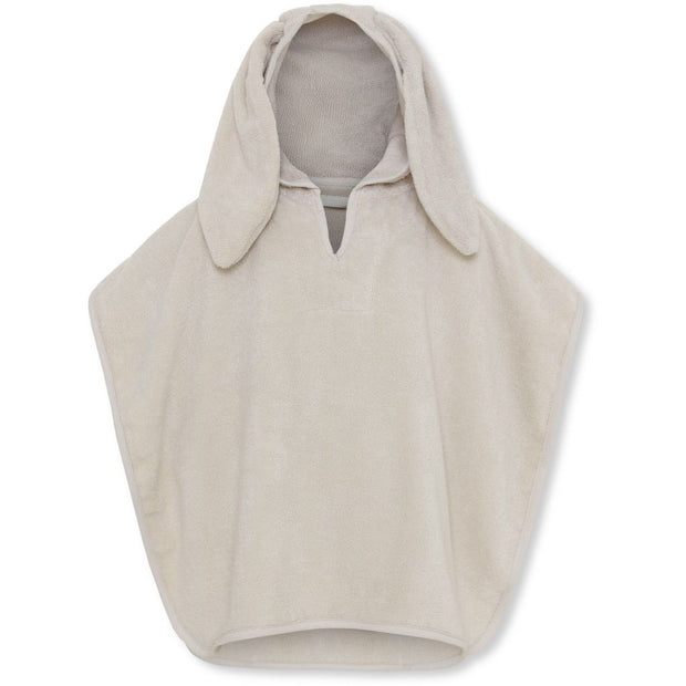 Konges Sløjd Organic Cotton Terry Poncho Towel - Natural