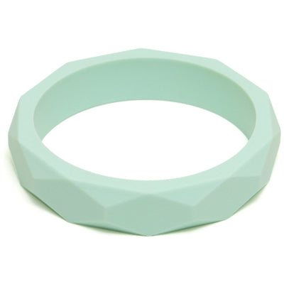 Lara & Ollie Mint Teething Bangle - Nursery Edit