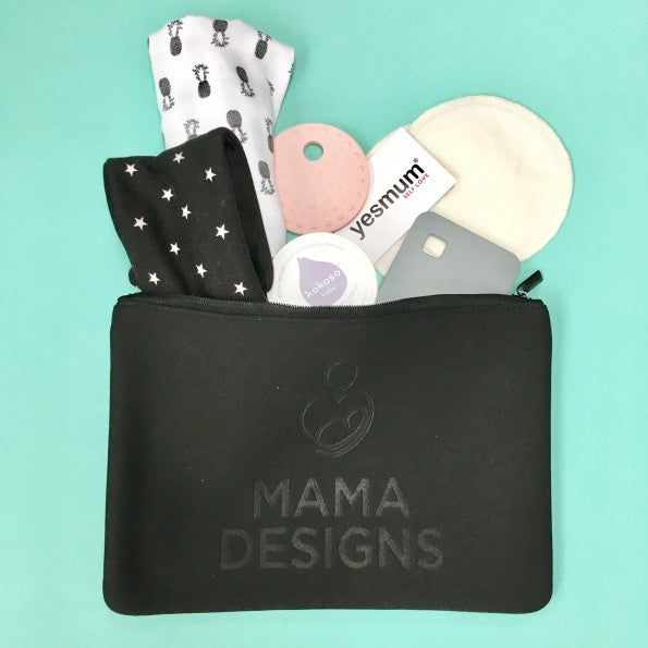 Neoprene Nappy Clutch - Changing Pouch