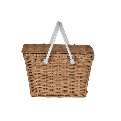 Olli Ella Piki Basket - Natural - Nursery Edit